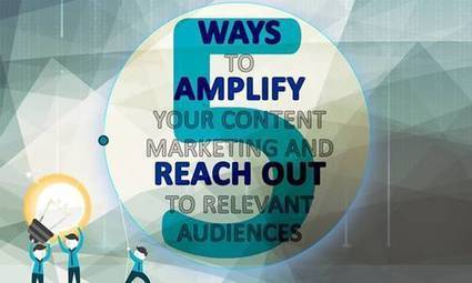 5 Brilliant Ways to Amplify Your Content Marketing Strategy [Infographic] | Design, social media and web resources | Scoop.it
