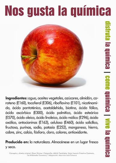 ¡Manzanas con químicos! ~ De Avanzada | Fer Tiburcio | Scoop.it