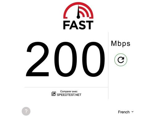 Fast. Testez en un clic la vitesse de votre connexion Internet - Les Outils du Web | Les outils du Web 2.0 | Scoop.it
