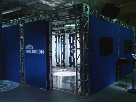 See your dream home virtually in the Lowes Holoroom - CNET | Science, Technology, and Current Futurism | Scoop.it