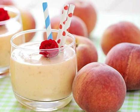 10 Peach Smoothies that are PERFECT for Summer - Women's Health | Shrewd Foods | Scoop.it