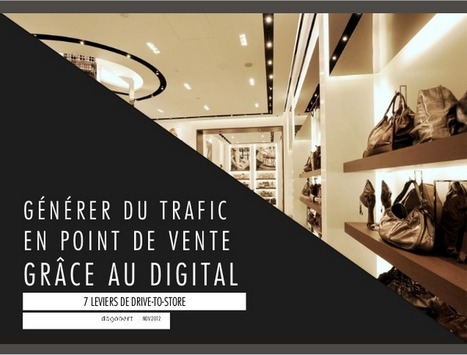 Comment générer du trafic en point de vente grâce au web | SoLoMo thesis | Scoop.it