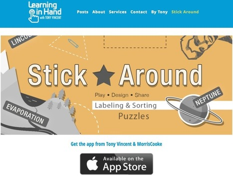Stick Around - App para iPad que nos permite crear juegos educativos interactivos | Entorns Virtuals d'Aprenentatge i Recursos Educatius WEB 2.0 | Scoop.it