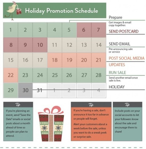 A Handy Holiday Marketing Calendar | VerticalResponse Blog | Thoughts on Sales, Marketing and Leadership by Jeramiah Martin | Scoop.it