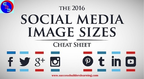 Social Media Image Size 2016 |Infographic - Make Money at Home | Internet Marketing Tips & Tactics | Scoop.it