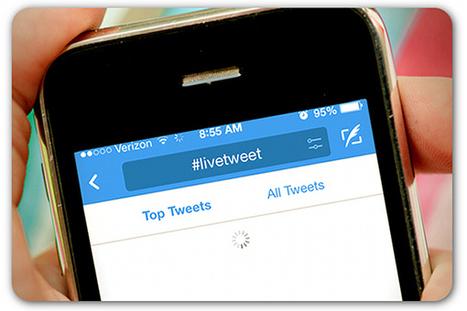 5 tips for live-tweeting | ProfessionalDevelopment PerfectionnementProfessionnel | Scoop.it
