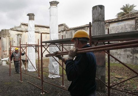 Rescue of Ancient Ruin of Pompeii Follows New Plan - National Geographic | Collapses at Pompeii | Scoop.it