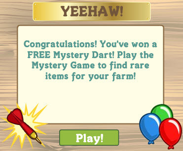 FarmVille Gifts Farmers 1 Free Mystery Dart! | Get Down On The Farm With Facebook and FARMVILLE | Scoop.it