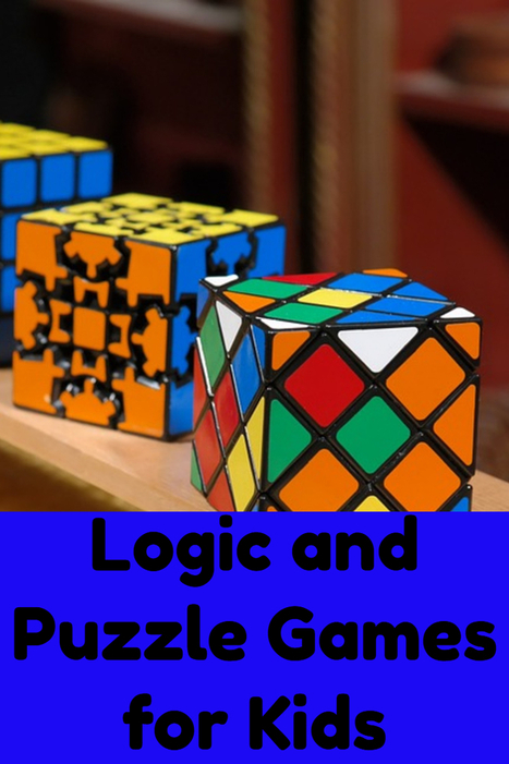 Logic Puzzle Games for Kids - Great Gift Ideas | Home and Garden | Scoop.it