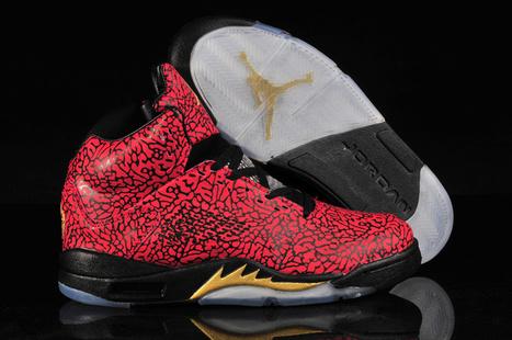 Air Jordan V 3Lab5 Elephant Red for Sale Online | Nike Air Jordans | Scoop.it