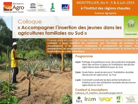 Montpellier SupAgro | Agricultures familiales | Scoop.it