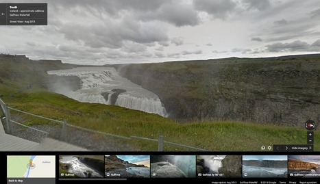 Google adds some of Iceland's breathtaking waterfalls and geysers to Street View | MarketingHits | Scoop.it