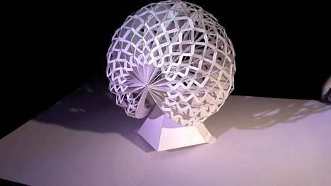 Amazing Pop-Up Paper Sculptures | DailyVideosTV | Scoop.it