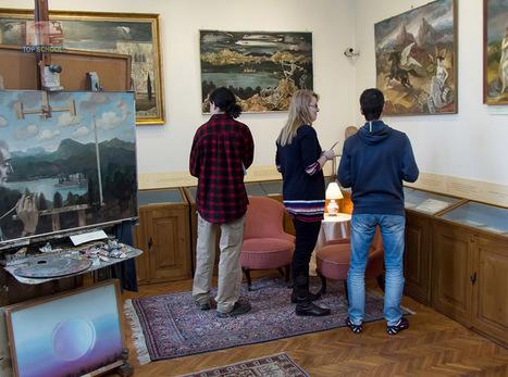 Molnár-C. Pál műtermében jártunk - Top School Oktatási Központ | Képzés, képzések | Scoop.it