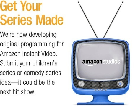 Welcome Series Writers and Creators : Amazon Studios | Online Communities and Social Networks | Scoop.it