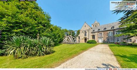 Visite virtuelle - Abbaye de La Lucerne  -  France par Pascal Moulin | normandie360panoramic | Scoop.it
