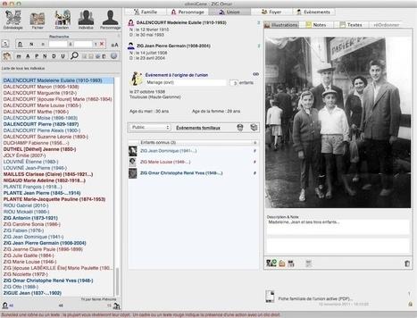 OhmiGene en version 6 pour les amateurs de généalogie | Rhit Genealogie | Scoop.it