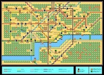 Blue Sky GIS: Maps in comics: Super Mario Bros tube map | Maps & Globes | Scoop.it