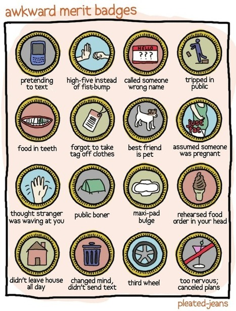 Awesome/Awkward Merit Badges | Gamification in Education | Scoop.it