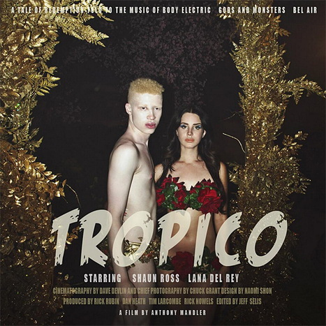 Lana Del Rey Sports Bikini Made Entirely Of Flowers For 'Tropico' Film Poster - MTV.com   Lana Del Rey - Lizzy Grant   Scoop.it