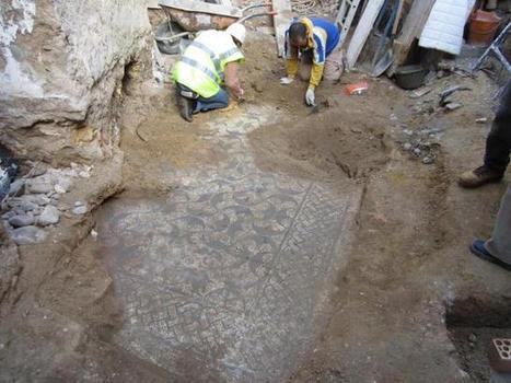 Descubierto un cuarto mosaico romano en la vivienda de Carmona escenario del último hallazgo | La Cultura y El Arte Del Imperio Romano | Scoop.it