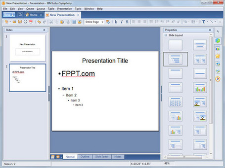 Lotus Symphony Presentations: A freeware alternative to PowerPoint | Digital Presentations in Education | Scoop.it