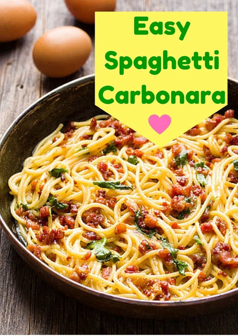 Easy Spaghetti Carbonara | Best Easy Recipes | Scoop.it