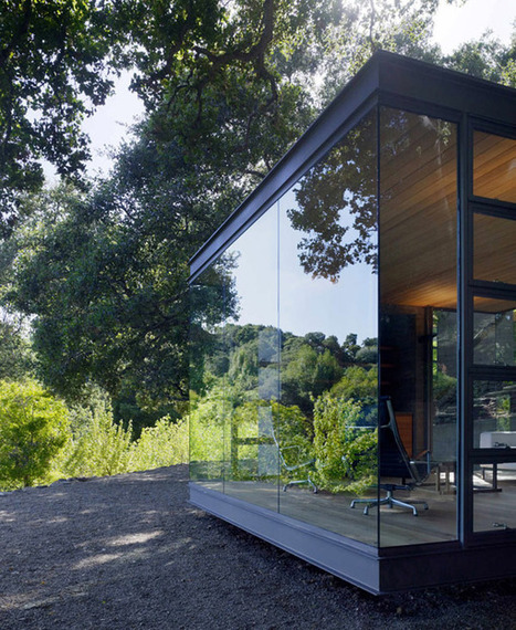 Nature-Embedded Retreats: Tea Houses by Swatt Miers Architects | Top CAD Experts updates | Scoop.it