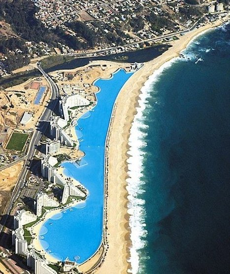Gigantic Pool Located in Algarrobo Chile | SmokingDesigners | Design Love | Scoop.it