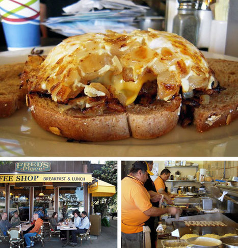 Sausalito, CA: A Burger for Breakfast at Fred's Coffee Shop | A Hamburger Today | Beautiful Spots | Scoop.it