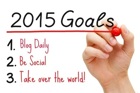 Why Your 2015 Goals Should Be To Blog Daily & Be Social   Surviving Social Chaos   Scoop.it