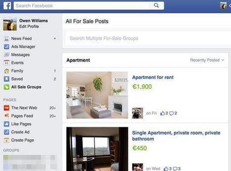 Facebook concurrence Leboncoin avec des petites annonces gratuites | Social Media l'Information | Scoop.it