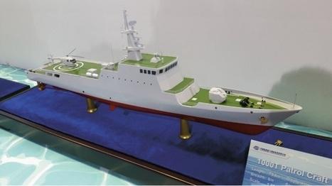Salon LIMA 2015: l'industriel chinois CSOC présente son nouvel OPV de 80 m pour l'export (Asie et Amérique du Sud) | Newsletter navale | Scoop.it