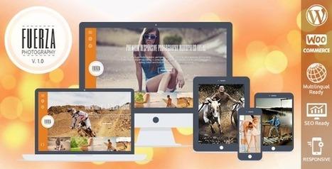Fuerza Responsive WordPress Theme Download | teste | Scoop.it