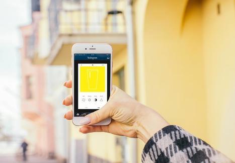Une affiche qui ne se dévoile qu'avec Instagram | digital | Scoop.it