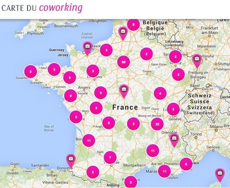 Le coworking s'étend partout en France: les raisons de s'y mettre | La Matrice | Scoop.it