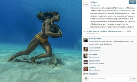 How National Geographic Drives Giant Facebook, Twitter, and Instagram Engagement | Social Media Useful Info | Scoop.it