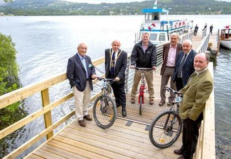 New lake jetty celebrated - The Westmorland Gazette   Windermere And Bowness   Scoop.it