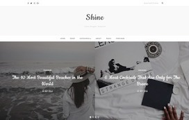 Shine | Blogger themes | Scoop.it