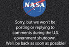 Shutdown: NASA Says Ta Ta for Now on Instagram | Truthdig.com | Current events | Scoop.it