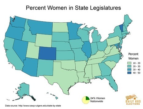 It's been nearly 100 years since women won the right to vote, people, so this is just pathetic | Fun Geography and GIS | Scoop.it