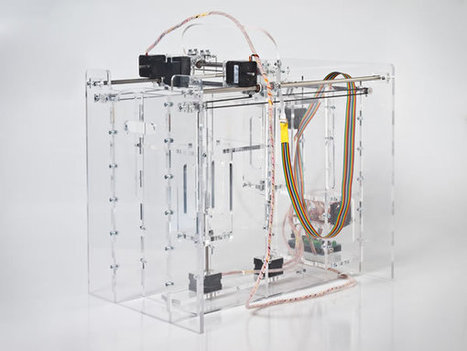 Pwdr - Open source powder-based rapid prototyping machine | FabLabRo | Scoop.it