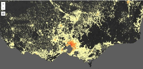 Map - The most detailed map of Australian population density ever | Geofactualidades | Scoop.it