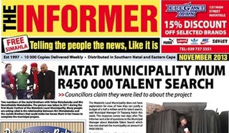 Media gagging: Eastern Cape editor arrested after exposing alleged ...   Apostilas para concursos públicos JE Concursos   Scoop.it