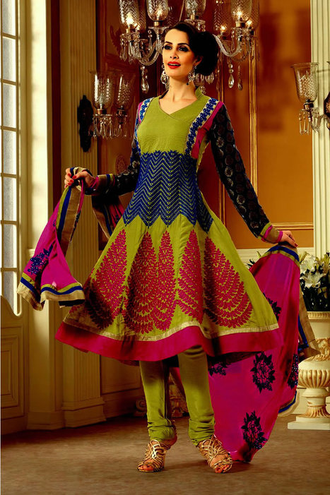 Anarkali Suits Online | Bollywood Anarkali Salwar Kameez | Scoop.it
