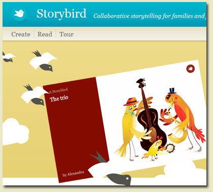 Storybird - Collaborative storytelling | cyber citizens | Scoop.it