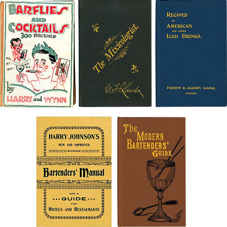 old bar books - παλιά βιβλία γιά cocktails   The Art of Bartending   Scoop.it