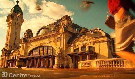 La gare des Bénédictins, emblème de Limoges | Willy Ronis, une journée à Oradour sur Glane | Scoop.it