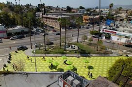 Los Angeles to try out 'parklets' - Rebuilding Place in the Urban Space | The E2G2 Neighborhood Network | Scoop.it