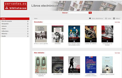 La biblioteca digital del Instituto Cervantes: modelo de selección para el libro electrónico y gestión de la colección | Conversaciones líquidas | Scoop.it